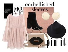 нежность by alena-bobrova on Polyvore featuring мода, Witchery and Victoria Beckham