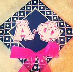 Graduation | Alpha Phi | Adorable