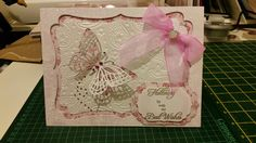 Flutterby card