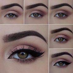 sexy eye makeup - Sexy Augen Make-up – Lidschatten sexy eye makeup – eyeshadow # - Sexy Eye Makeup, Skin Makeup, Eyeshadow Makeup, Beauty Makeup, Pink Eyeshadow, Eyeshadow Palette, Gel Eyeliner, Brown Eyeliner, Colorful Eyeshadow