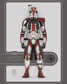 Star Wars Characters Pictures, Star Wars Pictures, Star Wars Clone Wars, Star Wars Art, Maquette Star Wars, Guerra Dos Clones, Marine Gear, Star Wars Timeline, Symbiotes Marvel