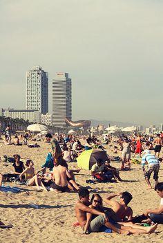 La Barceloneta by Emilijan Sekulovski, via Flickr