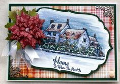 Sheena Douglass – Crafts, Papercrafting, Stamps, Create & Craft » A VILLAGE MYSTERY……February 2014 Sheena Douglass, Frantic Stamper, Spectrum Noir, Crafters Companion, Create And Craft, Card Ideas, Mystery, February, Stamps