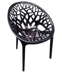 CRYSTAL PP NILKAMAL PREMIUM CHAIRS BLACK