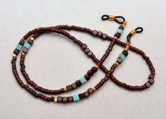 Eyeglass Chain Beaded Glasses Holder Glasses by SoCalStudio