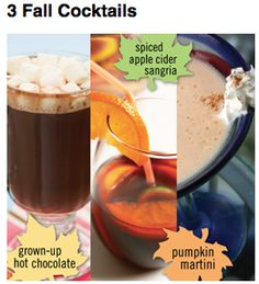 Fall drinks