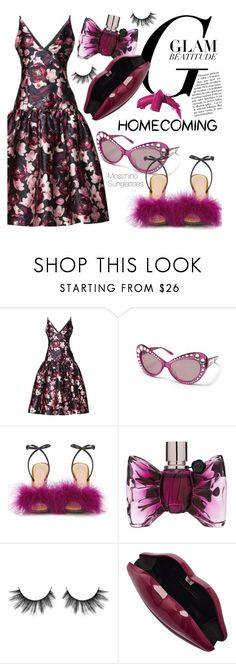 """Homecoming Style /2"" by smartbuyglasses-uk ❤ liked on Polyvore featuring Marco de Vincenzo, Viktor & Rolf, Lulu Guinness, Elizabeth Arden and Homecoming"