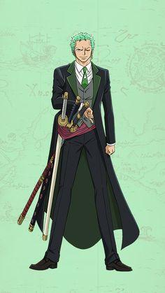 I love how they look in these types of cloths lol ^_^ Roronoa Zoro, Zoro Nami, Death Note Cosplay, Zoro One Piece, Manga Anime One Piece, 0ne Piece, Nico Robin, Dress Hats, Ghost Rider