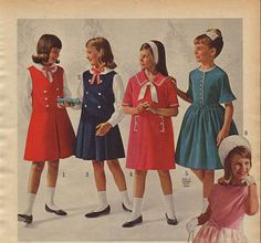 ... , many women were preferring skirts over dresses because they could mix and match their outfits a lot better. Description from retrowaste.com. I searched for this on bing.com/images