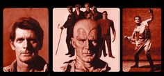 James Bama used actor Steve Holland as the model for his Doc Savage covers