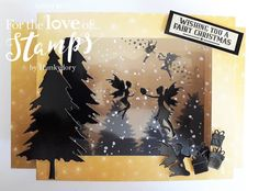 Designed by Sarah Bell using Twilight Christmas Collection by For the Love of Stamps by Hunkydory