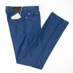Modern style abound, in these  BRIONI Stelvio Bespoke Silk Straight Leg Indigo Denim Jeans!  |  Go Shopping! http://www.frieschskys.com/bottoms/jeans  |  #frieschskys #mensfashion #fashion #mensstyle #style #moda #menswear #dapper #stylish #MadeInItaly #Italy #couture #highfashion #designer #shopping