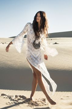 New 2015 Boho Beach Fashion Collection Fleetwood Maxi Dress Lace Simply Fascinating Look.