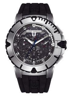 Harry Winston Ocean Chronograph at London Jewelers!