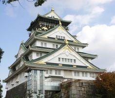 大阪城 天守閣 (Osaka Castle) , 大阪府