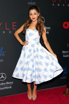 Ariana Grande Out and About!Ariana Grande attends the 2013 Style Awards at Lincoln Center in New York City.