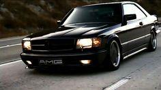 Hommage an einen großen Wagen: Mercedes 560 SEC AMG im Video Mercedes W126, Mercedes Benz Autos, My Dream Car, Dream Cars, Mercedez Benz, Classic Mercedes, Unique Cars, Motor Car, Luxury Cars