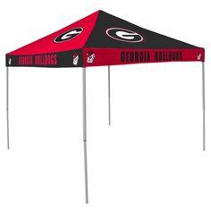 Logo™ University of Georgia Straight-Leg 9' x 9' Checkerboard Tent