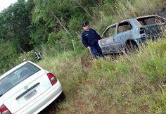 Na manhã desta segunda-feira (30), foi acionada uma equipe da Unidade Regional XII, para atendimento de uma ocorrência de incêndio em veículo na altura do km 05, da Ruta Nacional 101, área rural