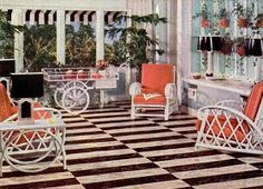 my pretty baby cried she was a bird nairn linoleum floors 1941 interiors