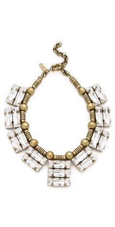 Auden Solaris Crystal Necklace