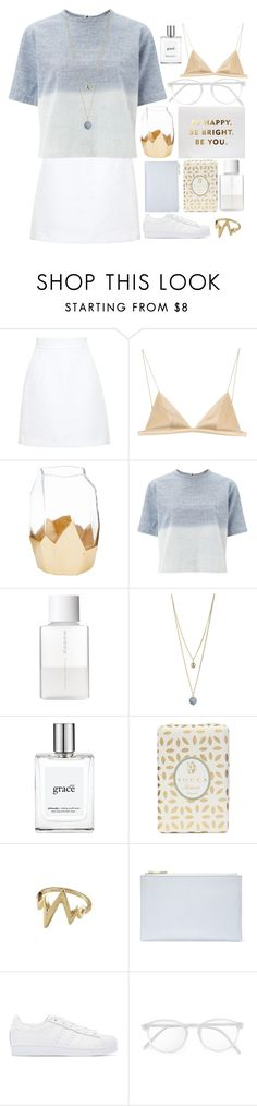 """Happy For You"" by ocenia ❤ liked on Polyvore featuring Dolce&Gabbana, T By Alexander Wang, Mikasa, rag & bone, SUQQU, Dorothy Perkins, philosophy, Tocca, Whistles and adidas Originals"