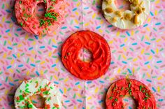 Appel Donut's a easy healthy treat for your kids.