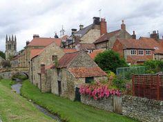 Helmsley, North Yorkshire erg leuk dorp om door heen te wandelen paar leuke winkels