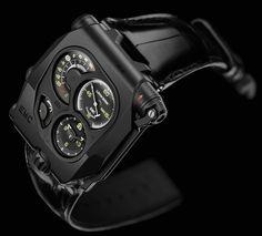 Urwerk EMC Black Watch Presents The Dark Side Of Horological Tinkering