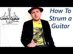 How To Strum a Guitar With a Pick For Beginners - 8 Top Tips - YouTube