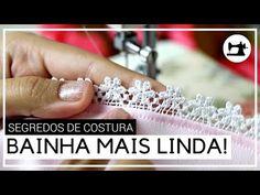 RENDA na BAINHA é o ACABAMENTO mais lindo para o FORRO! - 😉 Truques de Costura 💖 - YouTube Blog, Engagement Rings, Crystals, Instagram, Youtube, Sheath Dress, Rag Doll Costumes, Sewing Tips, Fabric Crafts
