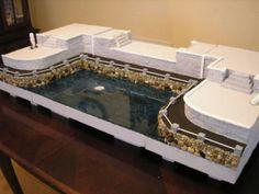 Dept 56 & Lemax Display Platform! Harbor Bay! Harbour Lights! | eBay