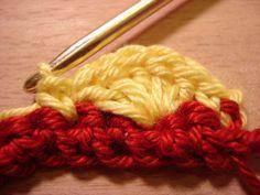 Häkeln lernen: Muscheln häkeln Crochet Patterns, Textiles, Trends, Fashion, Bias Tape, Amigurumi, Crocheting, Tutorials, Pencil Case Tutorial