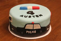 Cake Occasion will make a delicious cake you can be proud to serve at your wedding or other event! Based in Ogden, we serve all of Northern Utah. Police Birthday Cakes, Police Car Cakes, Harry Birthday, 2nd Birthday Party Themes, 4th Birthday Cakes, Cupcakes, Cupcake Cakes, Bolo Lego, Car Cakes For Boys