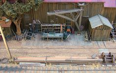 Model Railroad Galleries | Model railroad diorama | Flickr - Photo Sharing!