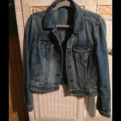 AMERICAN EAGLE denim jacket AMERICAN EAGLE denim jacket...med  wash...no distressing...soft denim... American Eagle Outfitters Jackets & Coats Jean Jackets