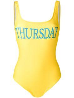 Shop Alberta Ferretti Thursday swimsuit.