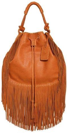 Ralph Lauren Multi Fringes Grained Leather Hobo Bag- i have this :) Ralph Lauren Shop, Curvy Petite Fashion, Boho Bags, Mk Bags, Fashion Bags, Fashion Trends, Milan Fashion Weeks, Michael Kors, Bucket Bag