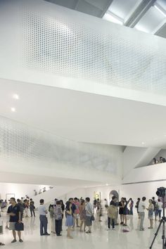 yue art gallery by tao lei architect