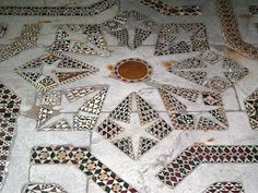 Cosmati mosaic pavements in Monreale Cathedral, Sicily Stone Mosaic, Mosaic Art, Mosaic Tiles, Mosaic Floors, Tile Patterns, Embroidery Patterns, Tile Layout, Best Barns, Early Christian