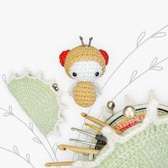 Fruit Fly & Venus Flytrap Purse Amigurumi Pattern