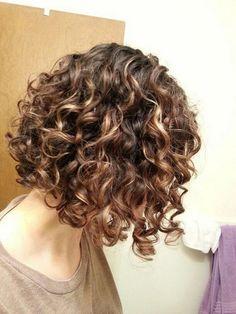 krullend haar Hairstyle Ideas for Short Natural Curly Hair 2019 Short Natural Curly Hair, Curly Hair Styles Easy, Haircuts For Curly Hair, Curly Hair Tips, Curly Bob Hairstyles, Short Hair Cuts, Natural Hair Styles, Short Hair Styles, Curly Short
