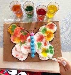 Spring Crafts For Kids, Summer Crafts, Fun Crafts, Art For Kids, Preschool Art Activities, Spring Activities, Preschool Activities, Toddler Art, Toddler Crafts