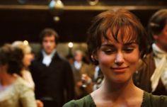 This moment ...Keira Knightley, Elizabeth Bennet - Pride & Prejudice (2005)