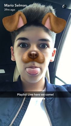 He's at playlist⚠️