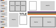 2 Page: 12-Photos Layout Template - Pazzles Craft Room