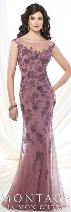 Montage by Mon Cheri Fall 2015 - Style No. 215913 #motherofthebridedress