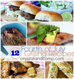 Fourth of July grilling recipes for the grill master!