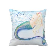 Dolphin Love ~ Pillow ~ by Kat