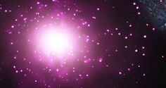 """""""There seems to be a mysterious link between the amount of dark matter a galaxy holds and the size of its central black hole, even though the two operate on vastly different scales,"""" says Akos Bogdan of the Harvard-Smithsonian Center. Nasa, Spitzer Space Telescope, Goals And Objectives, History Projects, Sports Wallpapers, Dark Matter, Science, To Infinity And Beyond, No Name"""